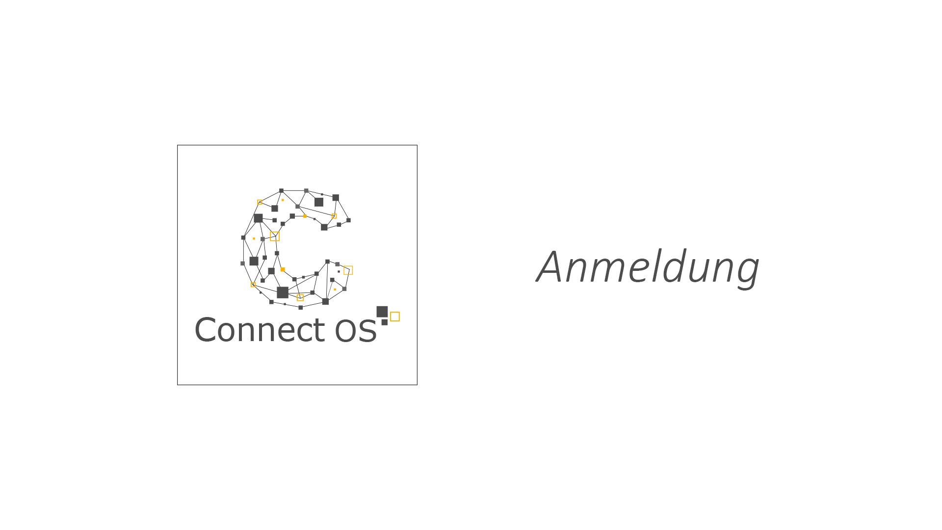 Anmeldung ConnectOS